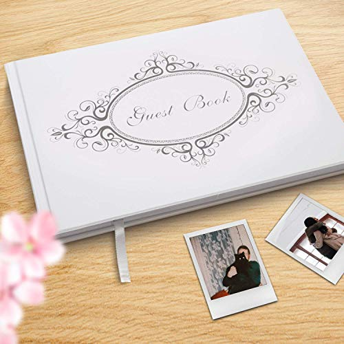 9''x 6'' Photo Guest Book with Pen Gift Box Matte Paper Ideal...