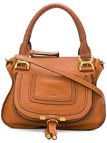Chloé Luxury Fashion Damen CHC17WS92816125M Braun Leder Handtaschen | Frühling Sommer 20