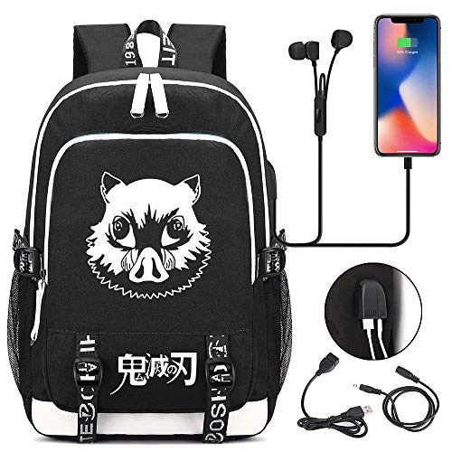 petit un compact LHZHH College Student Travel Backpack Devil's Blade Sac drôle de lame du diable…