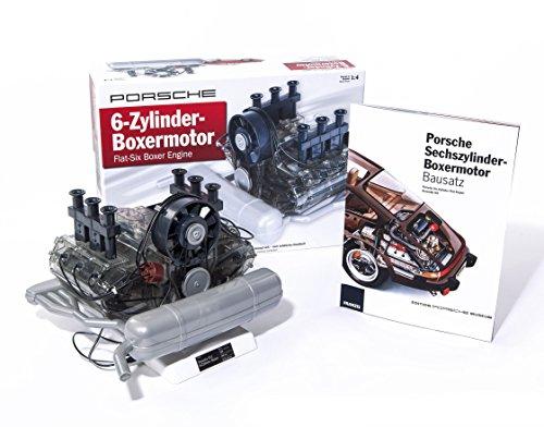 Porsche Flat-Six Boxer Engine Model Kit, Porsche Museum Edition