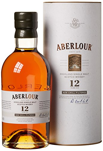 Aberlour 12 Years Old Non Chill-Filtered mit Geschenkverpackung  Whisky (1 x 0.7 l)