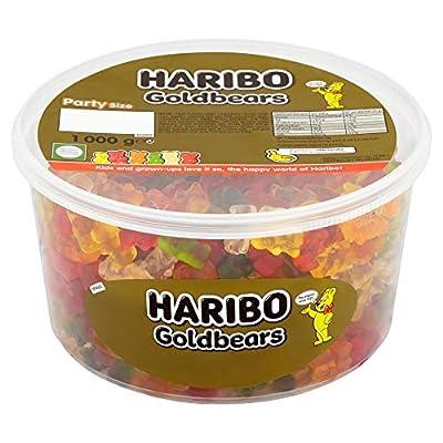 haribo gold gummy bear bulk sweets, 1 kg Haribo Gold Gummy Bear 1kg sweets party tub 51snkQBfDtL