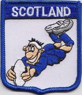 Szkocja Rugby flaga Unii flaga haftowana naszywka odznaka