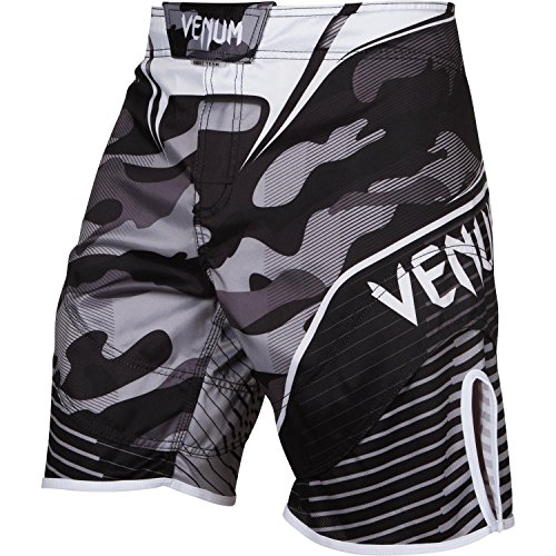 Venum Herren Training Shorts Camo Hero, White/Black, L