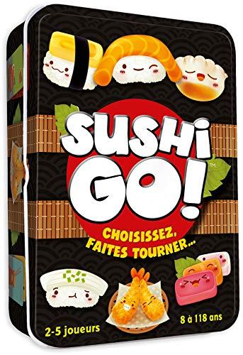 Sushi Go - Asmodee - Jeu de société - Jeu de cartes