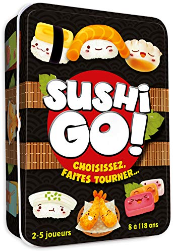 Asmodee-Sushi Go, CGSUS01, Jeu d'ambiance