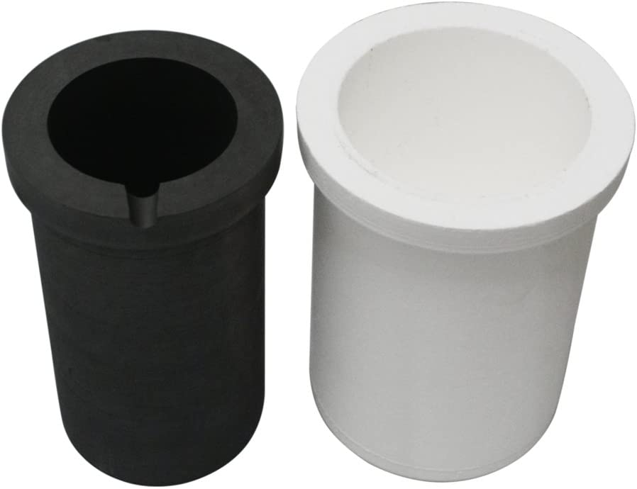 Fly-Fiber Graphite Crucible with Silica Casting OFFicial store store Metal Liner Ref