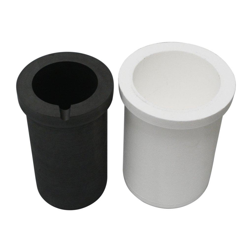 Fcloud Crisol de Grafito con Recipiente de cerámica, refino de ...