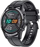 DSY Smart Watch I9 Pantalla Táctil Bluetooth Mano Gratis Smartwatch Hombres Mujeres Fitness Tracker Tarifa Cardíaca Llamada Mensaje Music Band Vida de batería Larga/Negro