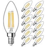 Dimmable E12 Candelabra LED Bulbs 40W Equivalent, 2700K...