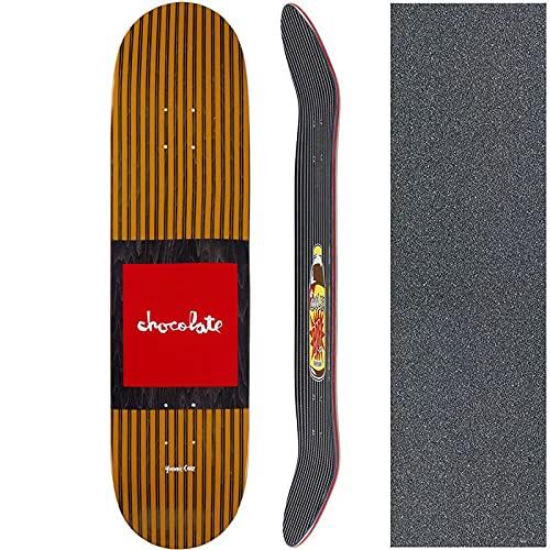 チョコレート CHOCOLATE スケートボード デッキ CRUZ POP SECRET DECK NO218 (8.125インチ, 7プライ)