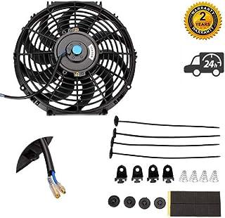 Oranges Autoparts - Ventilador de refrigeración para radiador de motor eléctrico (80 W)