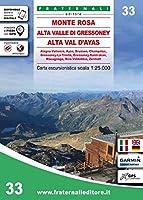 Monte Rosa, Alta Valle di Gressoney 1:33 222