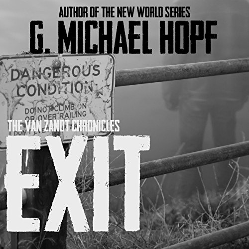 Exit audiobook cover art