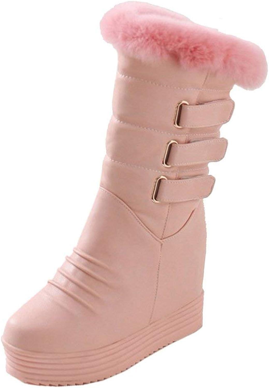 Women Winter Warm Boots Pull On