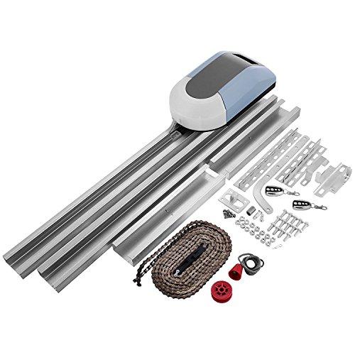 Buoqua Garagentorantrieb 800N Garage Door Opener remote 433MHz 120mm/s GaragentorÖffner auto mit 2 x drahtlose Fernbedienungen