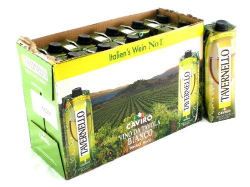 Tavernello Bianco Weisswein Trocken - 1.000 ml