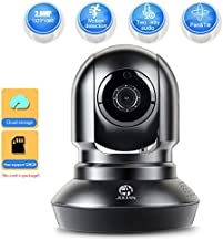 JOOAN Security Camera 2.4G WiFi Supports 2 Way Talk and Remote for Home Surveillance (HD1080P WiFi Camera)