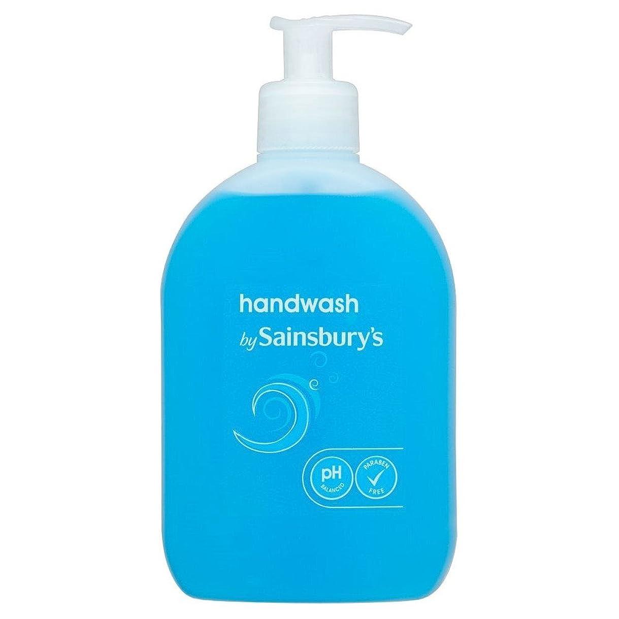 気晴らしアーティファクトいつもSainsbury's Handwash, Blue 500ml (Pack of 4) - (Sainsbury's) 手洗い、青500ミリリットル (x4) [並行輸入品]