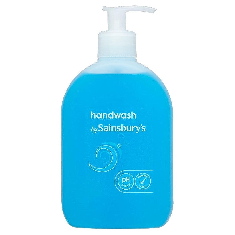 ショート盟主床Sainsbury's Handwash, Blue 500ml (Pack of 2) - (Sainsbury's) 手洗い、青500ミリリットル (x2) [並行輸入品]