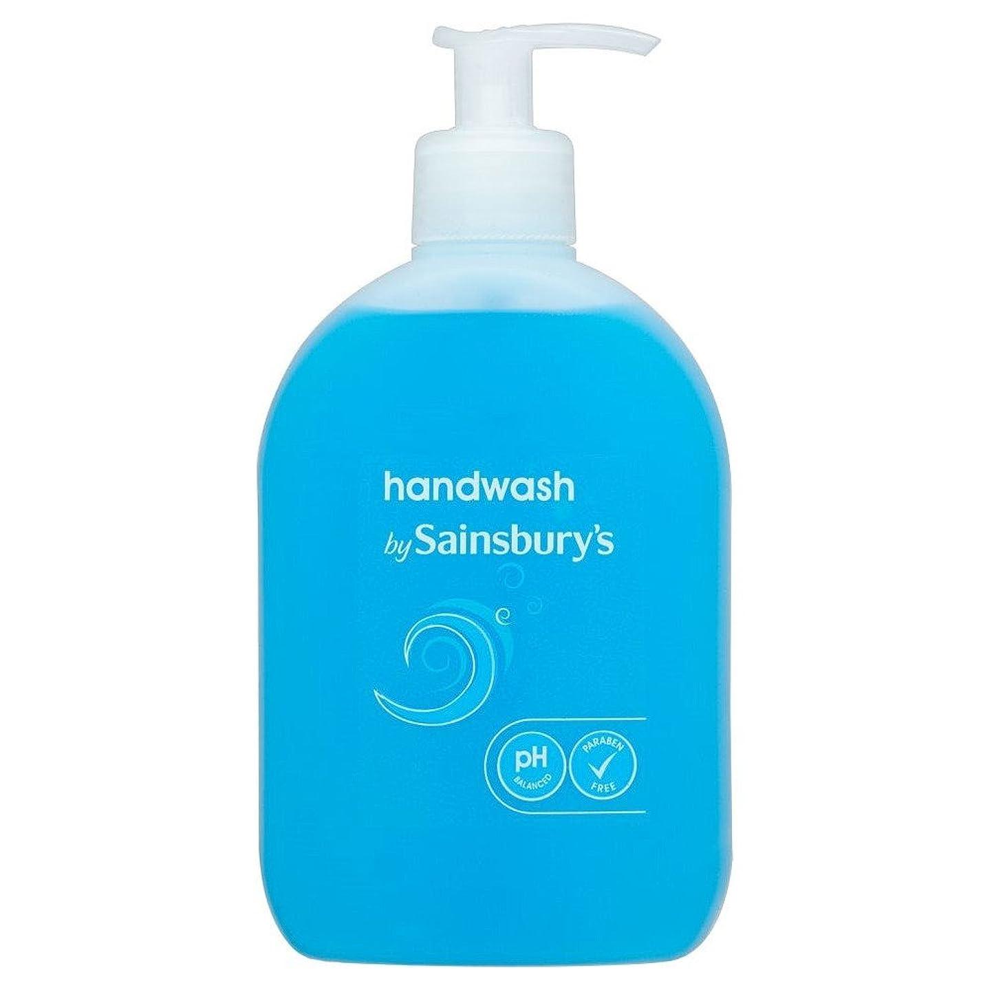スケジュール共産主義者アルミニウムSainsbury's Handwash, Blue 500ml (Pack of 6) - (Sainsbury's) 手洗い、青500ミリリットル (x6) [並行輸入品]