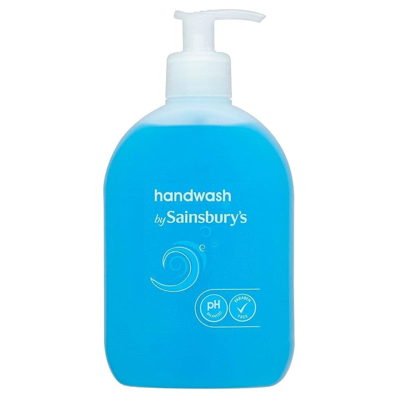 オセアニア離れて隠すSainsbury's Handwash, Blue 500ml - (Sainsbury's) 手洗い、青500ミリリットル [並行輸入品]