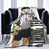 Akaashi Keiji Super Soft Lightweight Cozy Microplush Throw Blanket for Sofa Chair Couch and Bed Room Decor