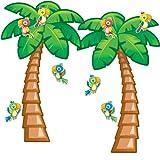 Carson Dellosa Tropical Trees Bulletin Board Set, Classroom Dcor, 38 Pieces