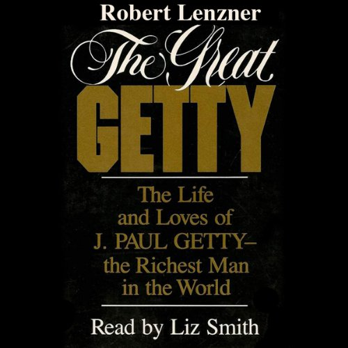 The Great Getty audiobook cover art