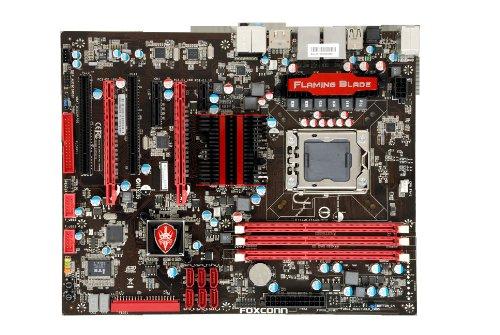 Foxconn Flaming Blade GTI Mainboard Sockel Intel 1366 X58+ICH10R DDR3 Speicher ATX