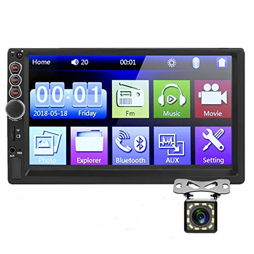 Car Stereo Double Din,7 inch HD Touch Screen Car MP5 Player USB/SD/AUX...