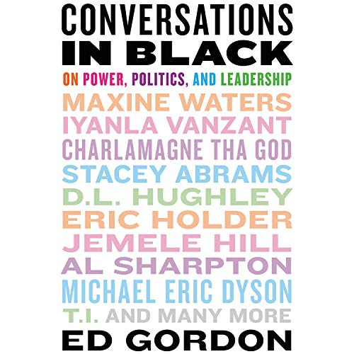 Conversations in Black Audiobook By Ed Gordon cover art