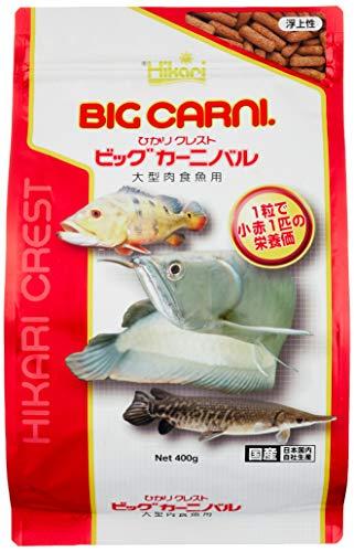 ヒカリ (Hikari) ひかりクレスト ビッグカーニバル 大型肉食魚用 400g