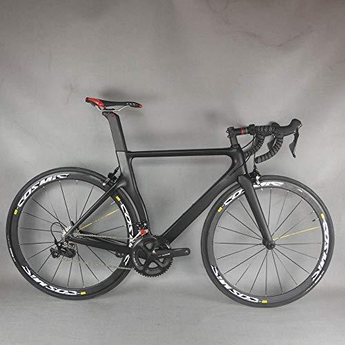 cuzona Komplettes Rennrad Carbon Bike Carbon Rennradrahmen mit Gruppe shi R7000 22-Gang Rennrad Komplettes Fahrrad-Shimano_R7000_Size_XL