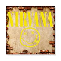ニルヴァーナ NIRVANA 木製 額縁 フォトフレーム 壁掛け 木製 横縦兼用 絵を含む 40×40cm