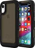 griffin Survivor Extreme Coque de Protection pour Apple iPhone – Noir/Transparent, résistant aux déchirures, Film de...