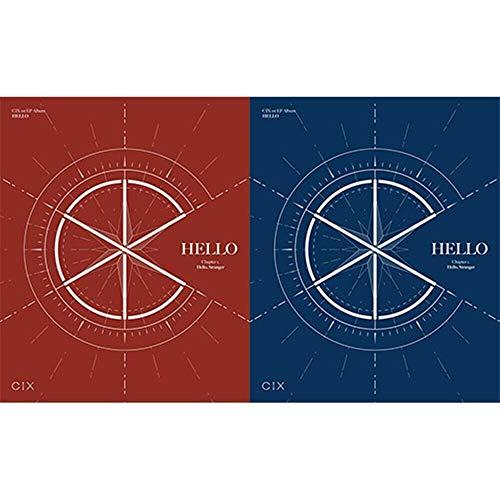 K-POP CIX 1st EP Album [Chapter 1. Hello, Stranger] Random Ver CD+Folded Poster+84p Photobook+40p Mini Photobook+3p Photocard+Illustration Card Sealed