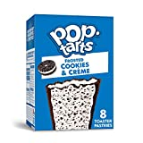 Pop-Tarts, Breakfast Toaster Pastries, Frosted Cookies and Crème, Proudly Baked in the US...