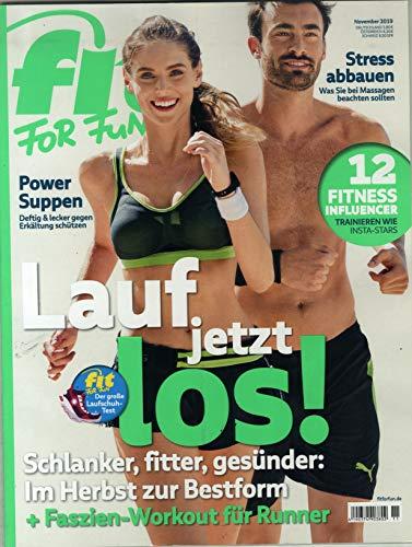 "Fit For Fun 11/2019 \""Lauf jetzt los\"""