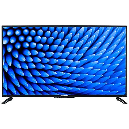 MEDION E14040 100,3 cm (40 Zoll) Full HD Fernseher (HD Triple Tuner, 3 x HDMI, USB, Sleeptimer, Mediaplayer, CI+)
