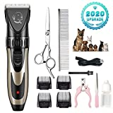 Best Pet Clippers - LIAOINTEC Dog Shaver Clippers Low Noise Rechargeable Cordless Review
