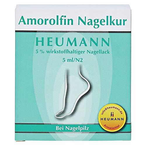 Amorolfin Nagelkur Heumann bei Nagelpilz, 5 ml Lösung