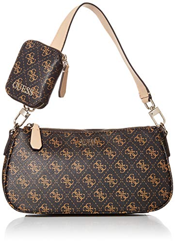 GUESS Kamryn Q Logo Shoulder Bag, Brown