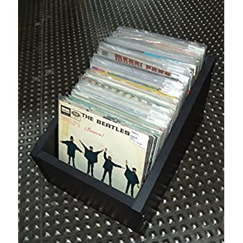 Cajón para Discos de Vinilo Singles 7