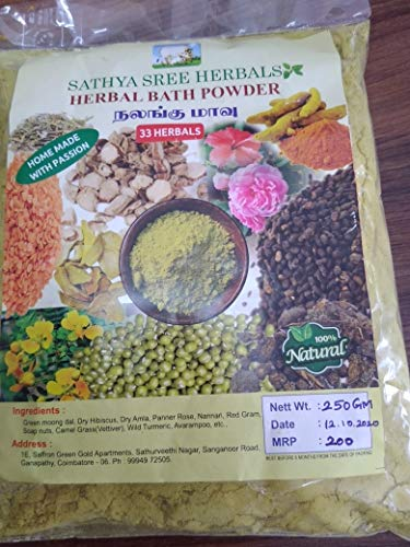 NALUNGU MAAVU - HERBAL BATH POWDER (33 INGREDIENTS)
