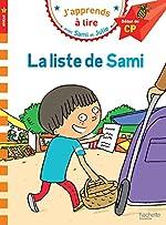 Sami et Julie CP Niveau 1 La liste de Sami de Laurence Lesbre