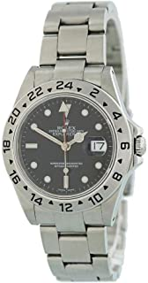 Rolex Explorer II Automatic-self-Wind Male Watch 16570 (Certified Pre-Owned)