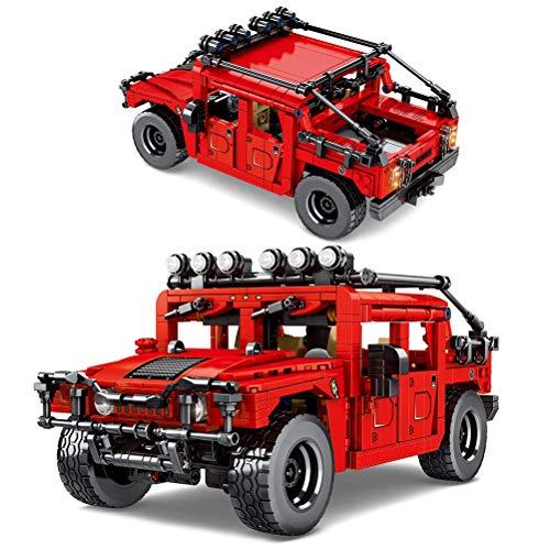 Hbao 953pcs Technic Off-Road Vehicle G500 SUV Bloques de construcción Ciudad Pull Back Coche Creador Ideas Ladrillos Niños Juguetes Regalos de cumpleaños