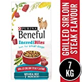 Beneful Incredibites Dry Dog Food for Small Dogs, Grilled Sirloin Steak 7 kg