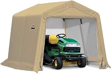 ShelterLogic Replacement Cover Kit 10x10x8 Peak 805142 (14.5oz PVC Tan)